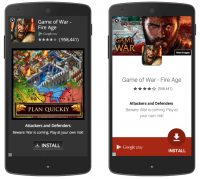 Google Debuts New In-App Interstitial Designs For App set up And text advertisements