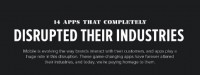 14 Apps That totally Disrupted Their Industries