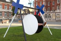 A Constructivist Swing Set For child-At-heart Designers
