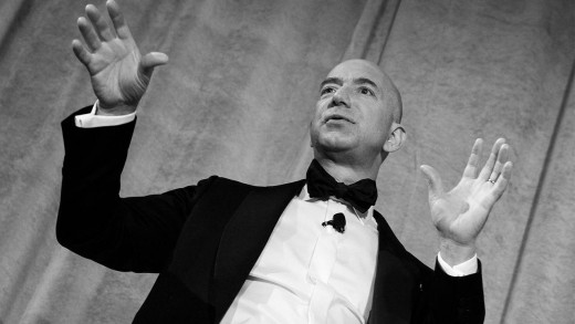 Amazon's Jeff Bezos Takes Dramatic Plunge Down record Of prime CEOs