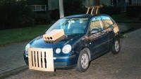 Artist Max Siedentopf Soups Up Boring Cars With Cardboard