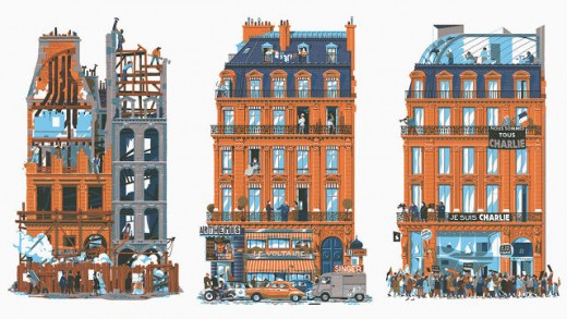 750 Years Of Parisian History, As Told Through Architectural Illustrations