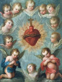Connecting the Sacred heart and the Rock of ages