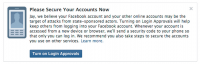 facebook Is Sending A horrifying Hacker Notification To centered users