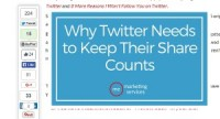 Why Twitter must preserve Their Share Counts
