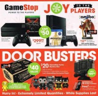 Black Friday 2015: $299.99 Xbox One And ps4 Doorbusters At Gamestop