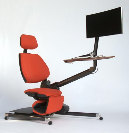 as a substitute Of Standing, Why no longer Lie Down whilst you Work? This Desk means that you can Do both