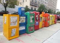What To Do With previous Newspaper boxes? Make Them Streetside Compost packing containers