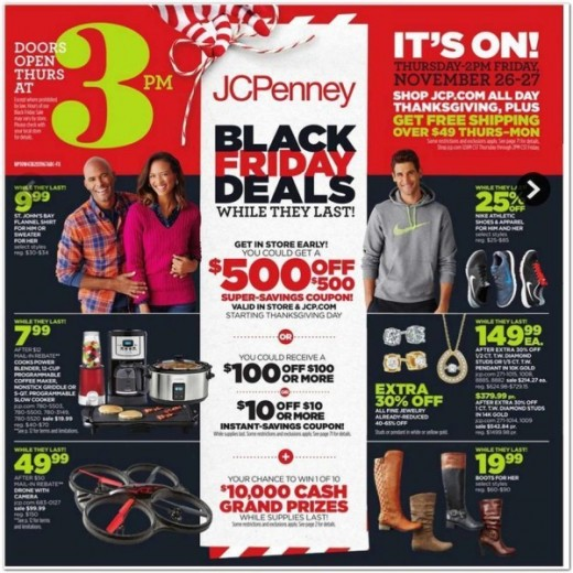 Black Friday 2015: residence goods And vacation Decor deals At JCPenney