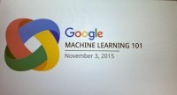 machine learning Day At Google