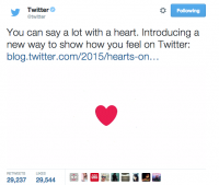 the actual fact behind Twitter's exchange from Favorites to Likes and Now Emoji testing