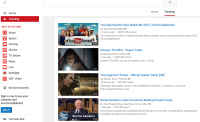 YouTube's New Trending Tab shows movies As They Go Viral