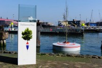 This woodland Will develop Floating In Rotterdam's Harbor