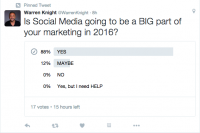 the right way to Run a poll in 5 Minutes on Twitter