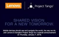 Google, Lenovo Dance around challenge Tango Announcement At CES