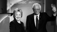 Clinton, Sanders Duel Over Who's more challenging On Wall side road