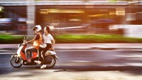 Uber Wheels Out motorbike journey-Hailing provider In Thailand