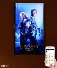 More Beacons, Now Coordinated With In-Lobby Video Screens, Invade Movie Theaters