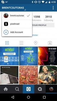 Instagram Now helps more than one debts For Some iOS And Android customers