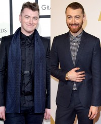 Sam Smith displays Off superb weight loss At 2016 Grammys