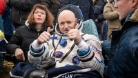 Astronaut Scott Kelly lower back To Earth Taller And youthful