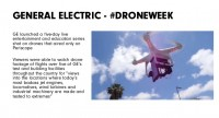 GE #Droneweek Returns, Demonstrates a special aspect Of Periscope