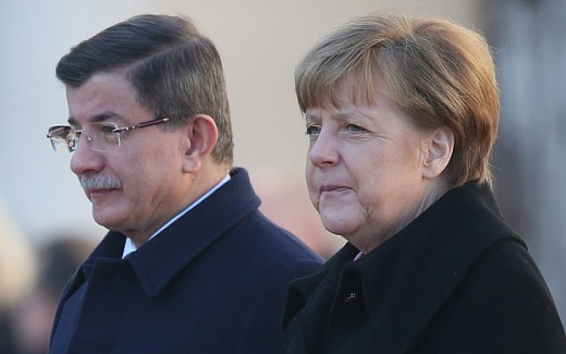 Why Angela Merkel's negotiations with Turkey are being concerned for the united kingdom