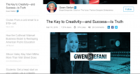 Will Gwen Stefani's New LinkedIn Profile Be successful?