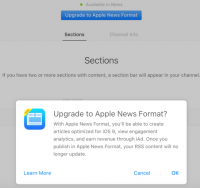 Apple news quietly opens up to smaller content publishers