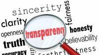 Transparency An 'choose-In' possibility, Say The companies