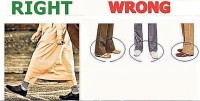 Ankle-size Hems For neatly-Dressed Muslim men
