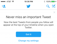 Twitter's algorithmic timeline now fully rolled out, few decide-outs suggested