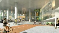 This New office could have a whole bunch Of spaces For Bikes–however None For fuel automobiles