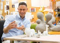 Fischer-value taps Jonathan Adler To Make baby equipment elegant