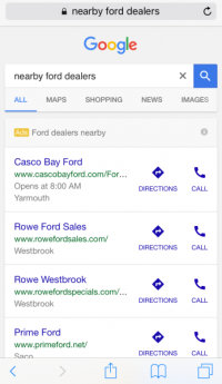 picture-pushed cellular commercials for automakers now to be had on Google in the us