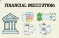 monetary institutions help companies in creating international locations