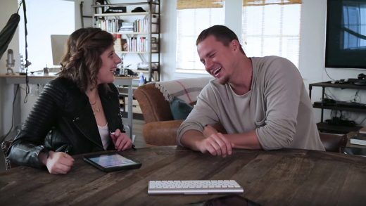 Watch Channing Tatum's Fantastic Interview With A Nonverbal Autism Activist