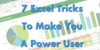 7 Excel Tricks to Make You a Power User [Infographic]