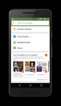 TripAdvisor Dances With Google Play Music