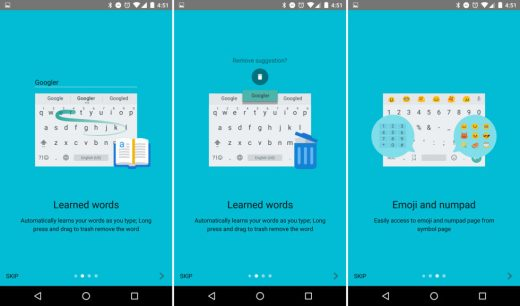 Google Keyboard 5 1 New Themes and Emojis | DeviceDaily com