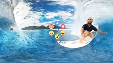Facebook brings VR Reactions to 360-degree videos