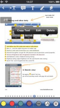 How to Edit PDF Files on iPhone / iPad