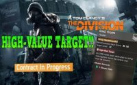 How to Hunt High-Value Targets in The Division
