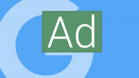 Green is in, yellow is out in Google text ad labels