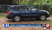 Florida man fined $48k for jamming cellphones while driving