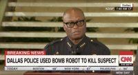 Dallas' bomb robot sparks debate around police militarization