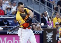 Giancarlo Stanton Beats Todd Frazier in All-Star Home Run Derby