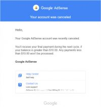 Google AdSense has closed many inactive accounts on July 4th