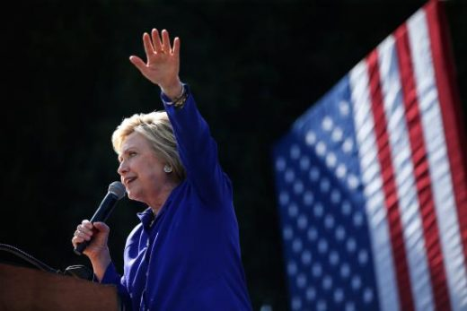 Hillary Clinton Holds Double-Digit Lead Over Donald Trump, Poll Finds