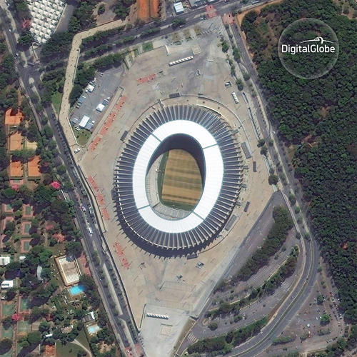 A Look At The Olympics . . . From Outer Space